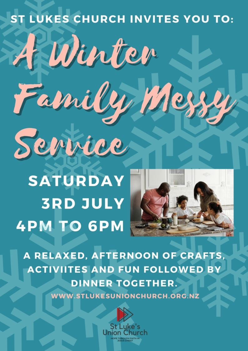 A winter family messy service (1)